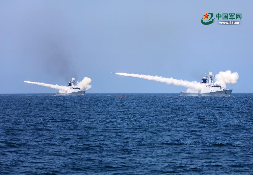 海军黄渤海大演练展强大战力 演练地点耐人寻味