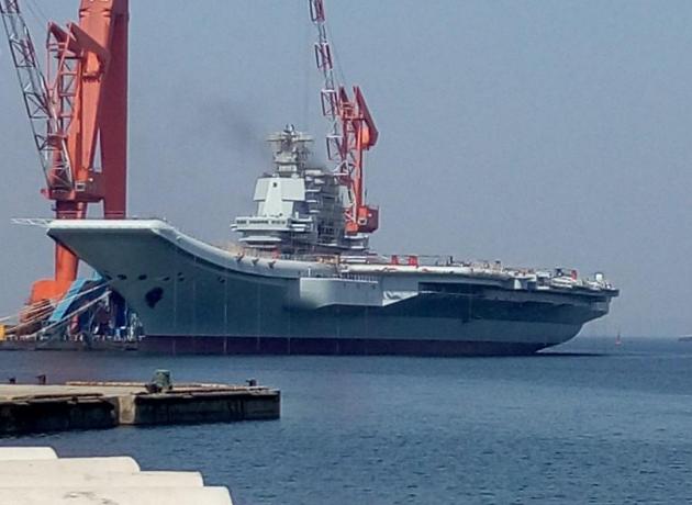 总指挥:中国001A航母技术在中型航母中处于前列