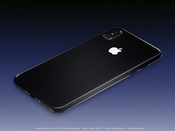 配色齐全!苹果iPhone 8全色系渲染图曝光
