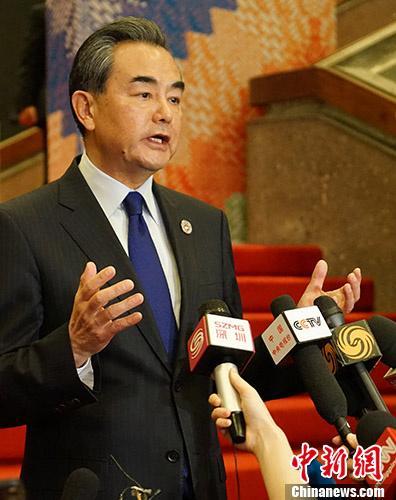 中国外长谈南海问题:不希望域外国家指手划脚