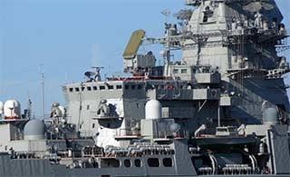 全角度展示俄核动力巡洋舰