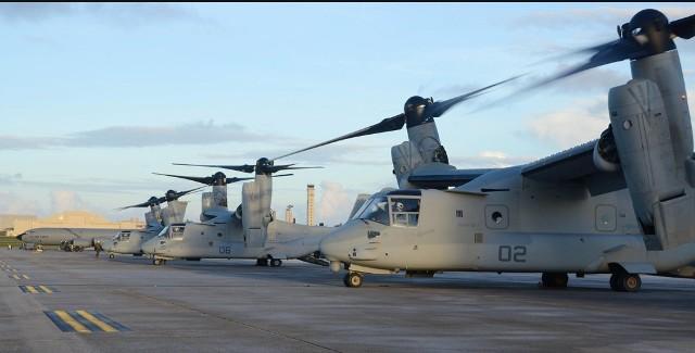 """美军""""鱼鹰""""运输机在澳坠海 日本不淡定了"""