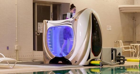 """边跑步边做SPA?这款""""鱼缸""""让你在水中也能运动"""