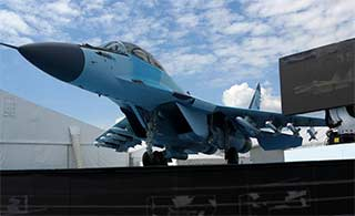 俄罗斯最先进米格35战机亮相