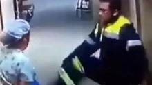 智利男子与怀孕护士起争执 竟用脚猛踹其腹部