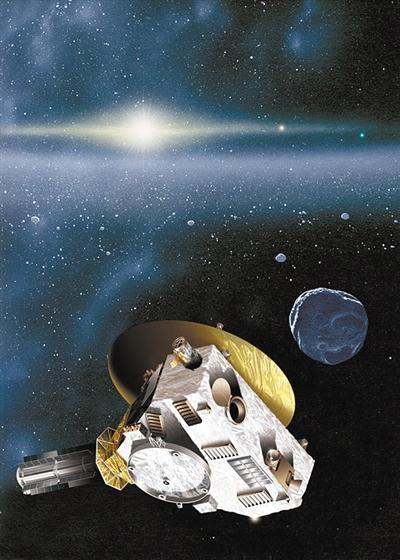 """飞过冥王星之后,""""新视野""""号为何要去约会它"""