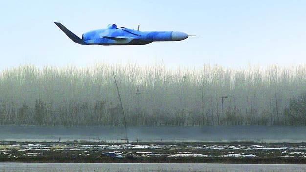 美媒:中国研掠海无人机可打爆航母 造型梦幻