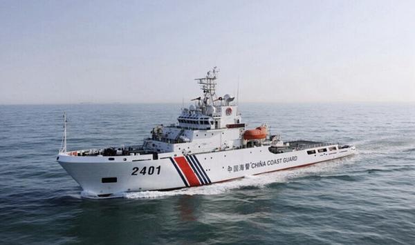 日本称中国海警船又进其领海 一点情况罕见