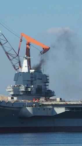 开始动力系统测试 港媒预测国产航母或提前交付