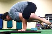美超重瑜伽教练走红
