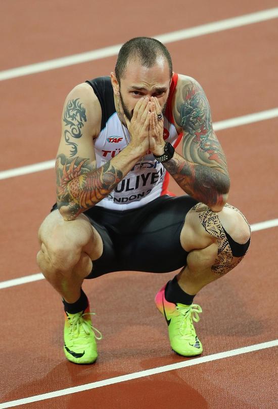 三级跳吴瑞庭第九 男子200米土耳其夺世锦赛首冠