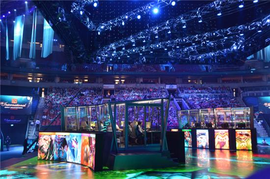 刀塔2国际电竞大赛西雅图登场 中国粉丝现场疯狂
