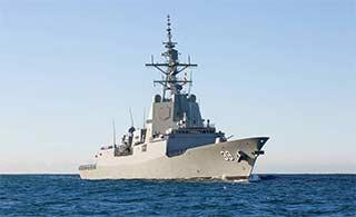 澳大利亚最先进驱逐舰完成海试