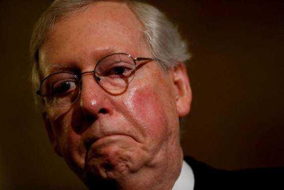 状元红心水论坛特朗普斥共和党参院领袖废除奥巴马医保法案不力 暗示其辞职