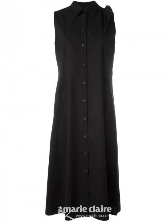 MM6 MAISON MARGIELA 无袖衬衫连衣裙¥2,873