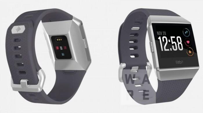 Fitbit智能手表渲染图曝光:三种配色、线条硬朗