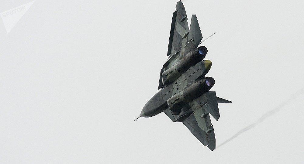 俄五代机正式命名为苏57 将在2018年列装部队