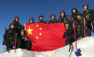 中国军人山地比赛夺得4个第一