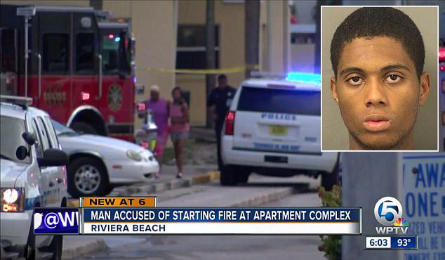 佛罗里达州22岁父亲放火烧家 三个孩子险丧生