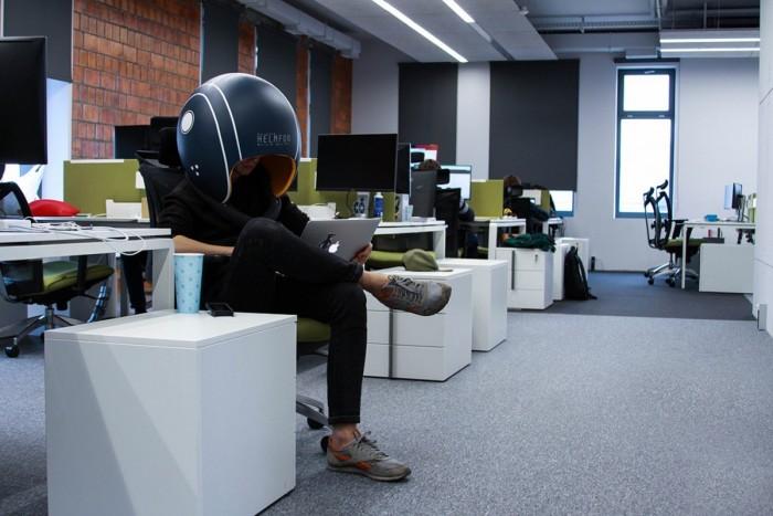 """这个头盔可以让你一秒变""""静静"""""""