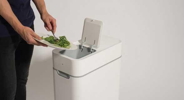 垃圾桶还有这操作?能让家庭厨余垃圾变肥料