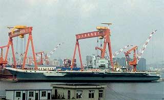 国产航母新进展:或正安装雷达