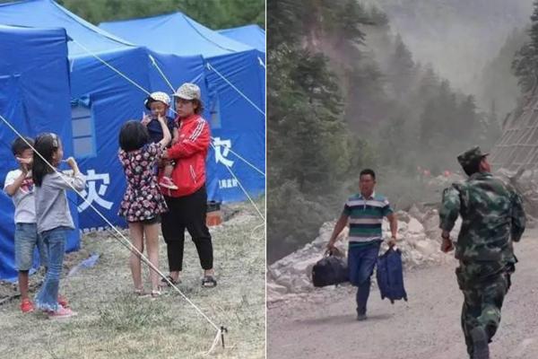 九寨沟地震七日祭 这些画面最难忘记