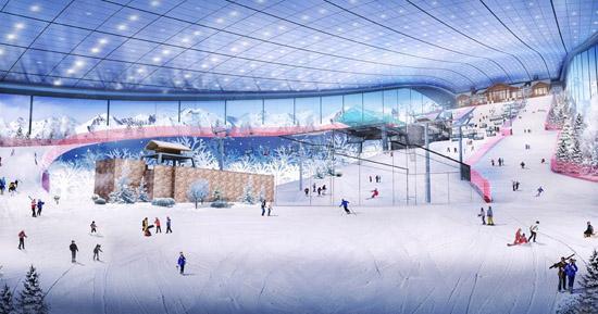 室内滑雪场成本高 想要做好需破解两难题