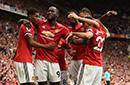 英超-卢卡库2球马夏尔博格巴破门 曼联4-0西汉姆