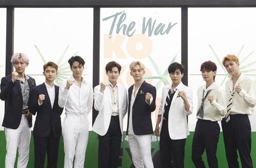 EXO四辑《THE WAR》销量24天破百万 创最短时间纪录