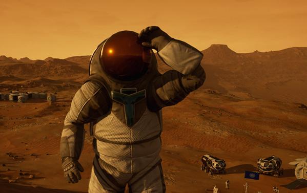 梦想殖民火星?先在VR里过把瘾