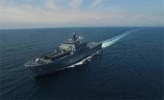 韩第二艘新型两栖登陆舰将交付