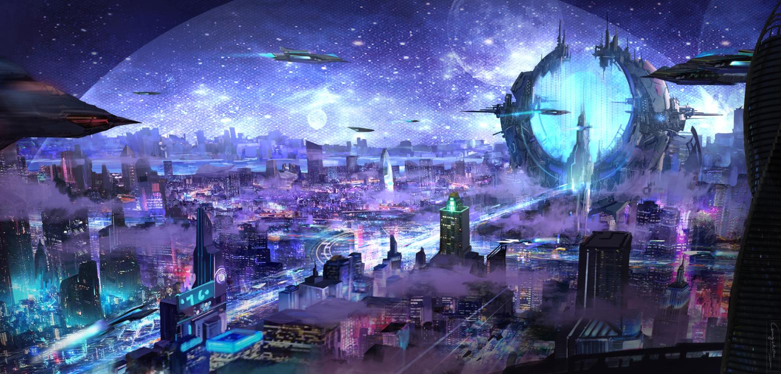 想·未来——我的世界网友作品:联邦之星