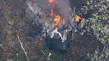 日本一小型飞机奈良坠毁 驾驶舱附近发现2人