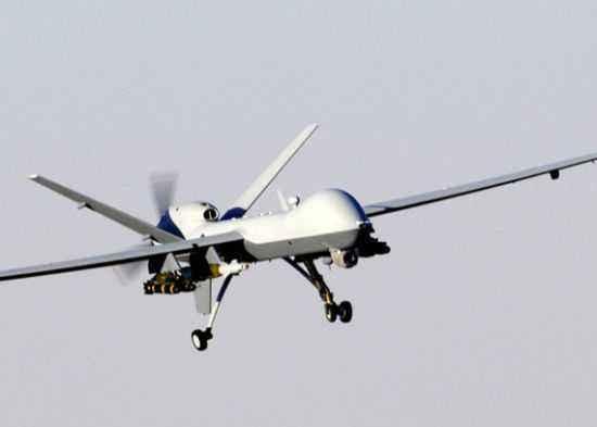 武警黄金部队使用固定翼无人机勘察灾情