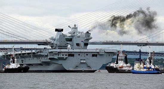 中国大疆无人机轻易登陆英国新航母 竟没被发现