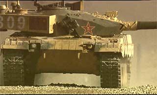 坦克两项赛96B坦克最帅瞬间