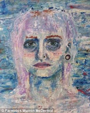 """英19岁女画家跳楼前发布自画像""""未曾死去"""""""