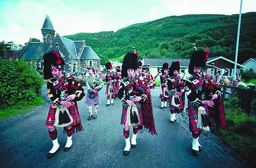 乐声悠扬续拨苏格兰旧时光