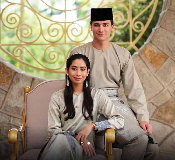 荷兰前足球运动员娶马来公主共谱童话爱情