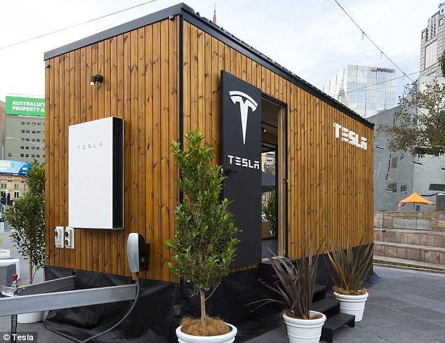 特斯拉小屋澳大利亚巡展进行时 全由太阳能供电