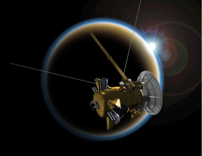 NASA卡西尼号谢幕倒计时:开始最后五次俯冲任务