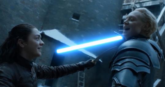 """《星战》法斯玛队长""""乱入""""《权力的游戏》"""