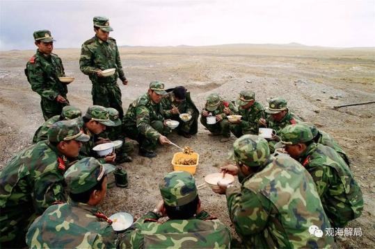 武警黄金部队挺进九寨沟 曾为世界唯一寻宝部队