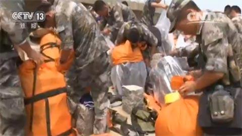 71集团军在黄海训练高难课目 锤炼濒海作战能力