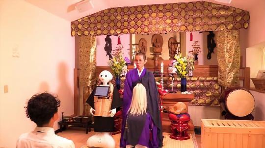 丧礼也要科技化:日本推出机器人法师