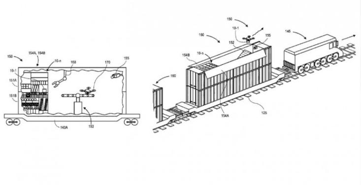 亚马逊又曝光了一个无人机专利 目的是为了解决充电和维修问题