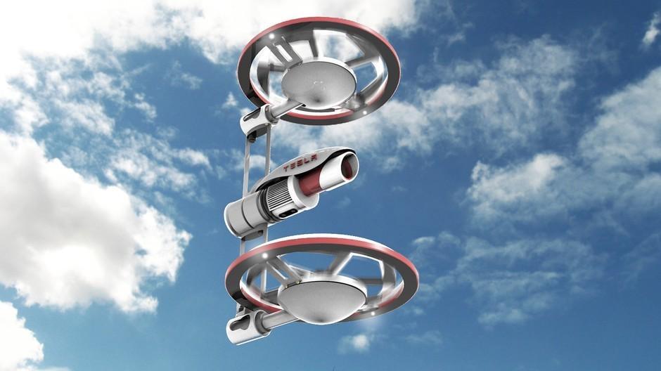 特斯拉无人机Tesla Drone :重新定义无人机?