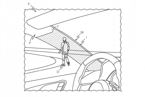 丰田获专利隐形设备 前风窗支柱后面也能看到