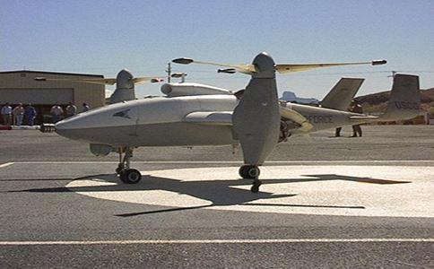 韩国测试可在舰船起降的倾转旋翼无人机